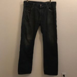 Levi Strausse 501 jeans 36 x 32